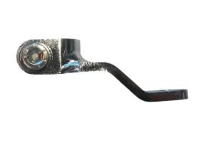 SHIFT LEVER DEFLECTION, f. rear set / recessed footrest system
