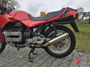"SILENCER / exhaust system, ""PureCraft HIGH"" v. Hattech, stainless steel polished, ""e""-marked,  BMW K75 C, S, RT"