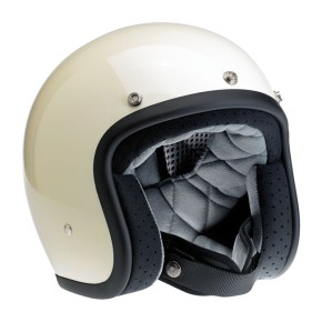 BILTWELL BONANZA Jet-Helmet vintage white  M