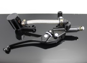 Hydraulic Brake Cylinder and Clutchlever-Bracket for Ø22mm Handlebars