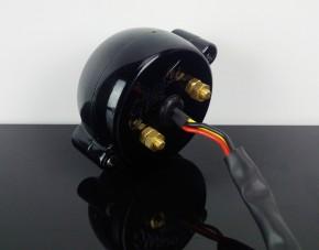 TAIL LIGHT, homologated, alloy, black