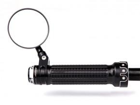 "LAGERRÄUMUNG: Lenker-Armatur, Taster, switch, 1"" Zoll (25.4mm), schwarz"