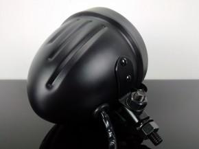 SCHEINWERFER Bates-Style, schwarz, 12 cm
