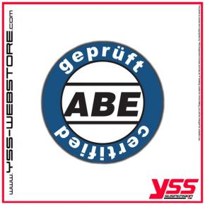 2 YSS-Stoßdämpfer RZ362 für Yamaha XT500 mit ABE