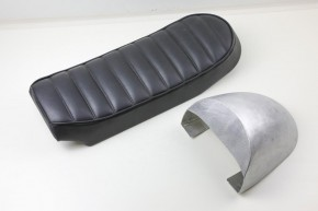 Hand Made ALUMINIUM SEAT COWL for our Roadster and Scrambler Seats