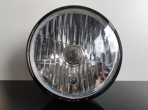 classic head light / headlamp with clear screen - LED angel eye