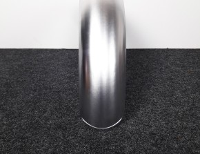 Fender / Mudguard for rear tyres, alloy.