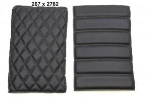 SCRAMBLER SEAT black or brown for  Rear Frame HR-PKU, BMW R-Models w. Paralever