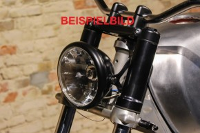 "COVER for inner fork tube 36 mm, ""Shrewd Shroud"" by BHCKRT, f. head light ""SW-SHB"", silvery"