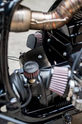 Motor/-Getriebe-ABDECKUNG, BMW R-Modelle, mit Entlüfteranschluss
