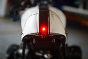 """LED-BLINKER """"Bullet Atto dark"""" v. Kellermann, black with tinted glass, e-marked"""