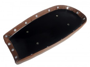 Scrambler SEAT, vintage brown, fits BMW custom subframes (HR-BD/BM/BP)