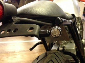 2 LED-Mini-Turn-Signals, very small, e-marked