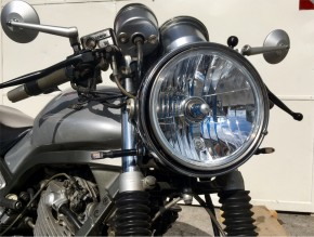 "INSERT f. headlamp, clear lens, 7 inch, ""e""-marked, f. SR 500, SRX 600, Norton Commando"