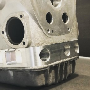 ÖLWANNENDISTANZRING RACING mit Zusatzkühlung passend für alle BMW R-Modelle