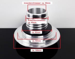 """Versenkbarer """"Pop-up"""" TANKDECKEL, CNC-gefrästes Aluminium, f. BMW"""