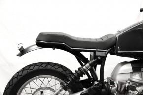 SCRAMBLER SITZBANK für unsere BMW-Heckrahmen mit Stufe für Paralever-Modelle