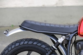 SCRAMBLER SEAT black or brown for our Rear Frames for BMW R-Models
