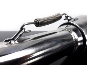 "2* AUSPUFF ""Cannonball"" v. Hattech, 38 mm, Edelstahl poliert, m. EG-ABE, f. BMW R-Modelle / 5 / 6 / 7"